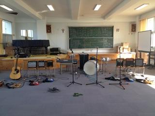 山陽西小学校ロック教室